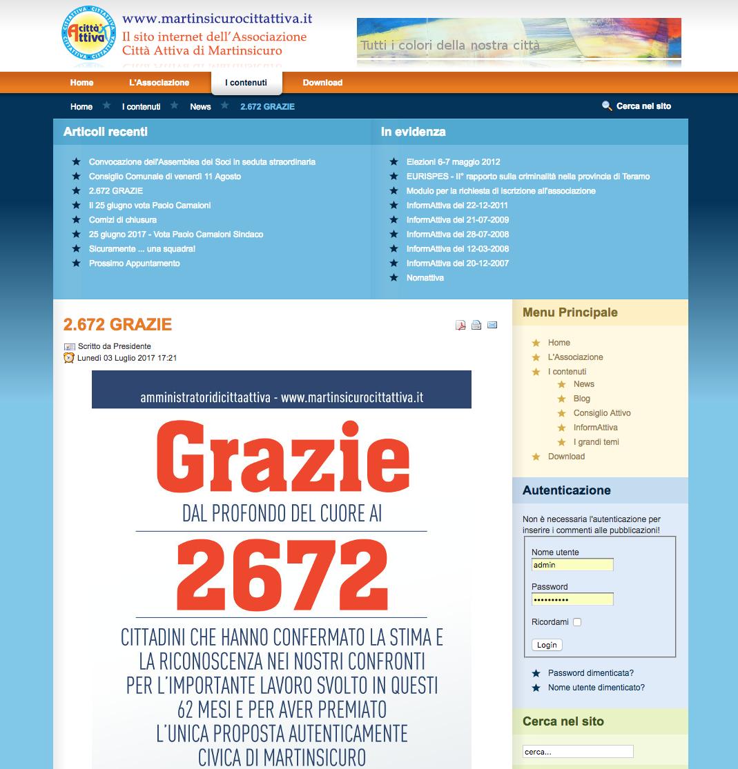 2.672 GRAZIE