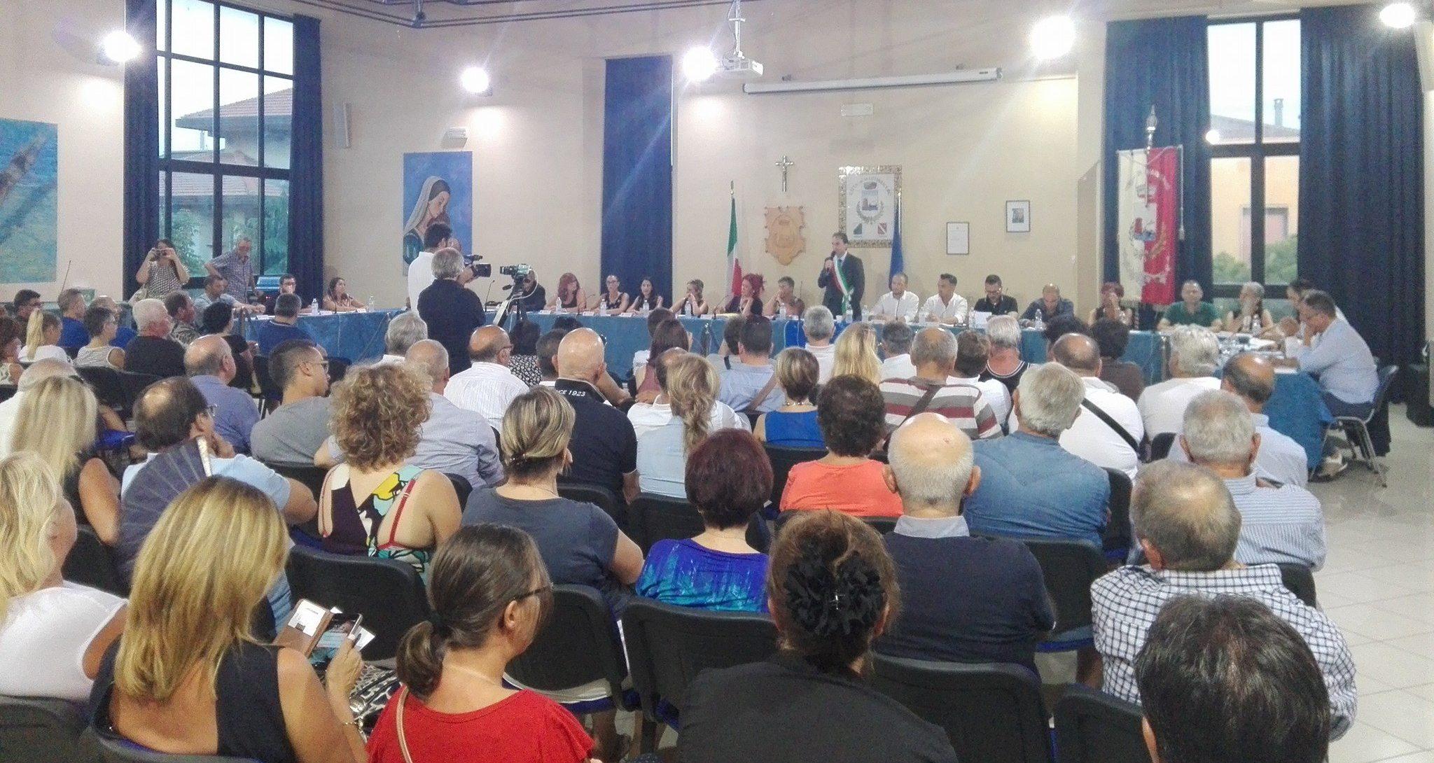 Consiglio Comunale di venerdì 11 Agosto