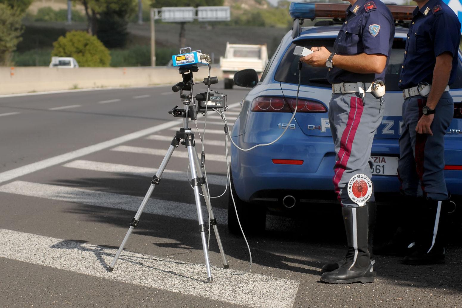 Posizionamento apparecchiatura di rilevamento infrazioni semaforiche (periodo ottobre 2017 – gennaio 2018)