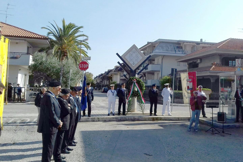 Commemorazione dei nostri concittadini vittime civili del bombardamento del 14.10.1943